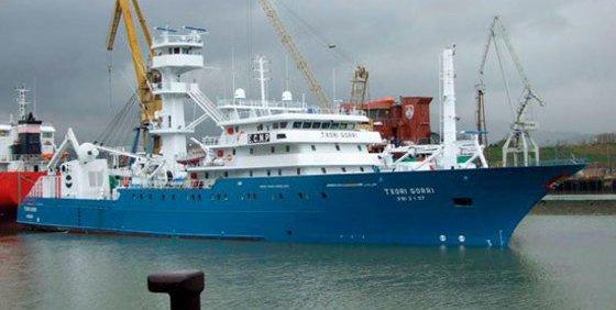 Un vigilante de seguridad mata a tiros a otro en un barco atunero español y se suicida
