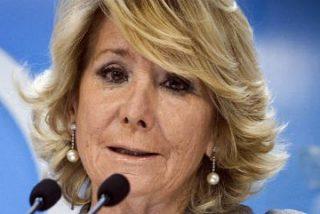Esperanza Aguirre sugiere que el Rey podría encargar en 'última instancia' a Felipe González formar Gobierno