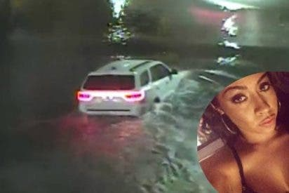 El terrible vídeo de la mujer que se ahoga en su coche por imprudente