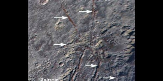 La 'araña gigante' que ha encontrado la NASA en el helado Plutón