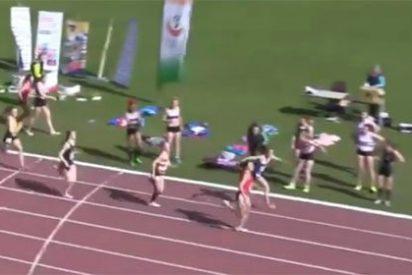 ¡Qué grande es el atletismo! El increíble e inesperado final que te hará levantarte del asiento
