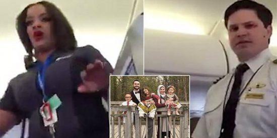 La familia musulmana denuncia que fue expulsada del avión de United Airlines 'por su aspecto'