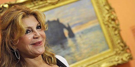 """La baronesa Tita Cervera: """"Estoy indignada con Hacienda y si siguen así, me llevo mis cuadros"""""""