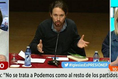 """El broncazo de Griso a Bescansa: """"Nos castigáis en Podemos y recibimos ataques furibundos cuando os criticamos"""""""