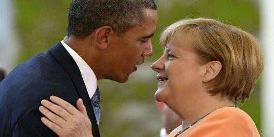 Obama se rinde ante Merkel por su gestión con la crisis de los refugiados