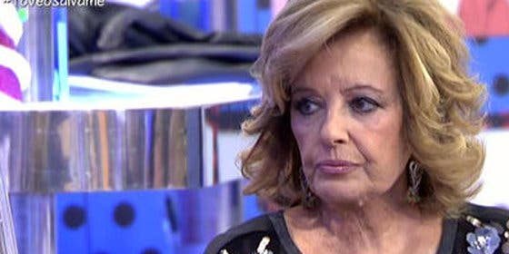 """María Teresa Campos le da con la mano abierta a Rosa Benito: """"¡Qué desagradecida!"""""""