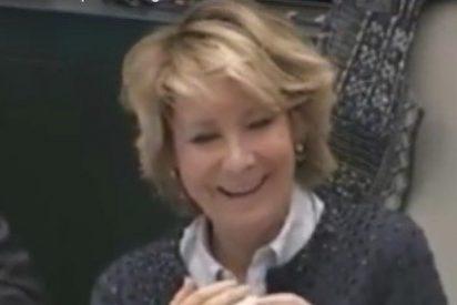 El 'coño' de la asaltacapillas Rita Maestre mata de risa a Esperanza Aguirre