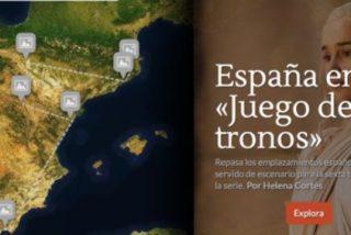 ¿Eres capaz de seguir la pista a los personajes de 'Juego de Tronos' por España?