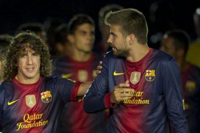 Carles Puyol se mete en la refriega entre Gerard Piqué y Álvaro Arbeloa