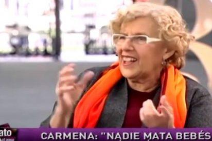 """Las paridas de la sabionda Carmena: """"No se aborta matando bebés, no son personas"""""""