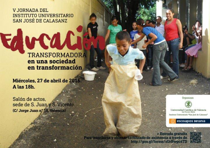 La educación como motor de transformación social, a debate en Valencia