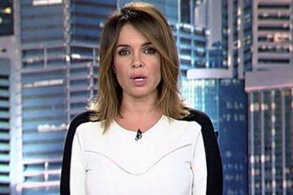 Carme Chaparro y Quique Peinado se mofan de la pregunta de un compañero a Mónica Cruz
