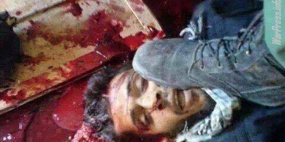 [VÍDEO] Mandan con Alá al caníbal de Al Qaeda que se comió el corazón del violador