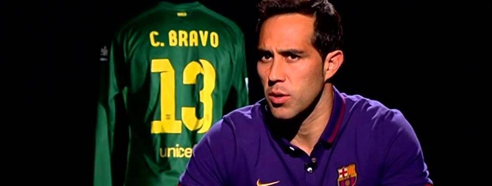 Claudio Bravo descubre quiénes son sus mejores amigos en el Barça
