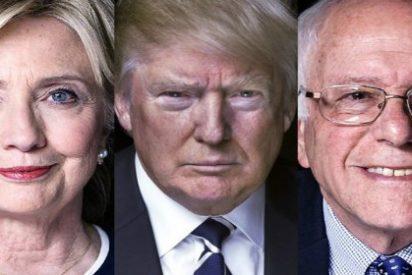 Trump se mete en el bolsillo 5 estados y Clinton le da otro revés a Sanders