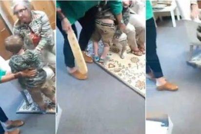 El terror del niño de 5 años ante el castigo físico que le espera en el colegio