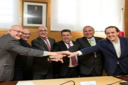 Nuevo y mejorado convenio entre Diputación y Cáritas, Cruz Roja y Banco de alimentos