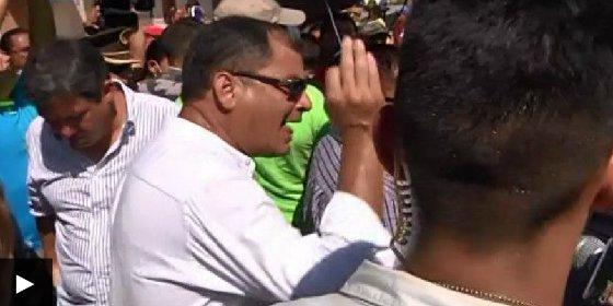 La respuesta de Correa al demoledor vídeo con las víctimas del terremoto