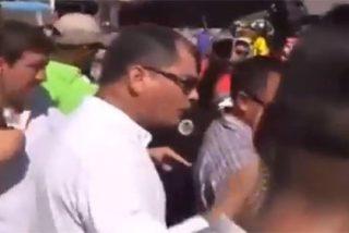"""El grito del insensible Correa a los damnificados por el terremoto de Ecuador: """"Aquí nadie me grita"""""""