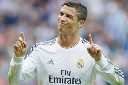 Cristiano Ronaldo se marchó con un calambre en el descuento, cuando el Real Madrid iba ya 3-0