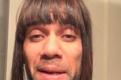 """El 'payaso' Alves en Instagram: """"Soy más fuerte de lo que aparento"""""""