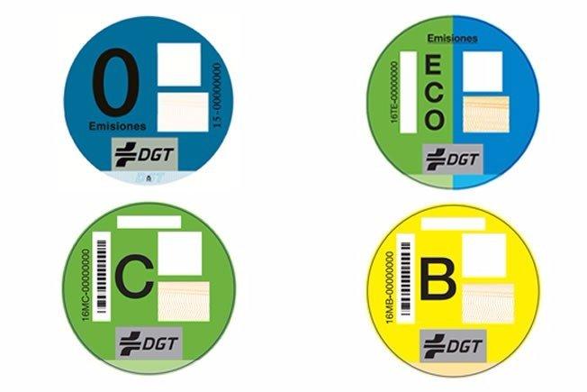La DGT instaura una clara clasificación medioambiental