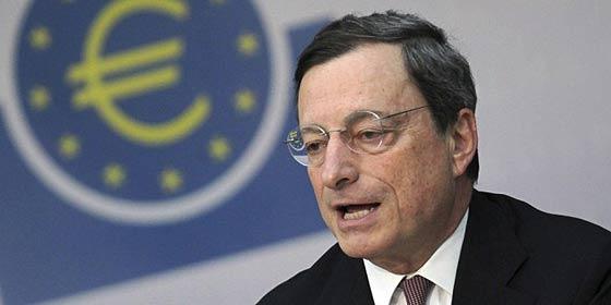 """Mario Draghi: """"La banca española relaja sus condiciones para conceder hipotecas"""""""