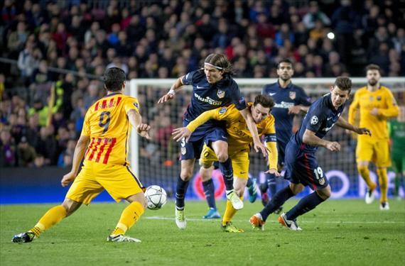 El Barça espera encontrarse mañana con un Atlético pasado de vueltas