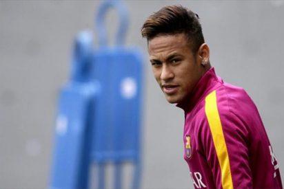 El cartel de intransferible de Neymar genera polémica en el Barça