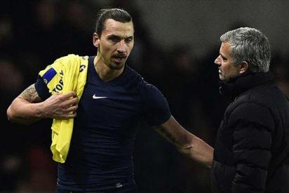 El favor de Ibrahimovic a José Mourinho con el United de fondo