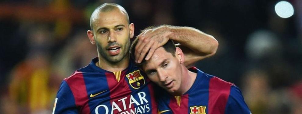 El lavado de imagen de Mascherano para continuar en el Barça
