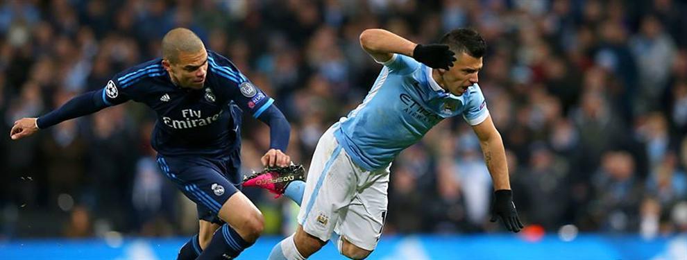 El Manchester City sale con vida de su propia casa