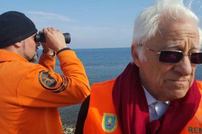 El Padre Ángel viaja mañana a Lesbos para apoyar el trabajo de Mensajeros de la Paz con los refugiados