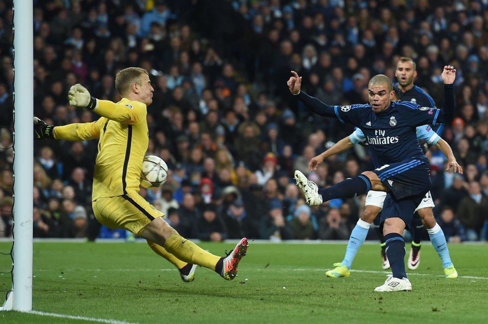 La actuación de Hart ante el Madrid congela el interés del City por Ter Stegen