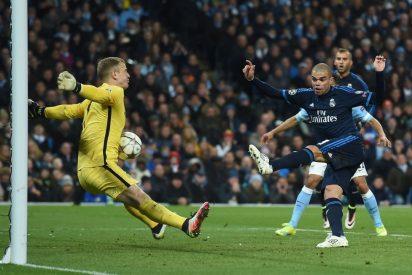 CHAMPIONS: Pepe estrelló un pelotazo contra el portero a dos metros y Jesé envió un balón al larguero (0-0)