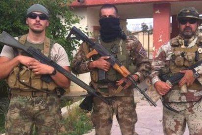 """Los exmilitares españoles que luchan en Irak contra ISIS: """"¡Viva Cristo Rey!"""""""