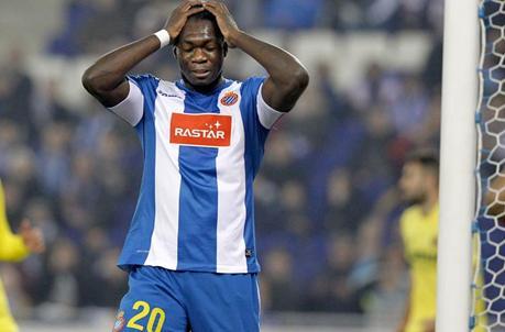 Fin de semana negro para el Espanyol: Caicedo, en el punto de mira