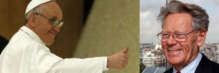 """Hans Küng: """"El Papa corresponde a mi deseo de abrir un debate libre sobre el dogma de la infalibilidad"""""""