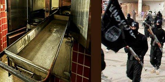 El ISIS congela vivos a 45 'afiliados' por abochornarles en plena batalla