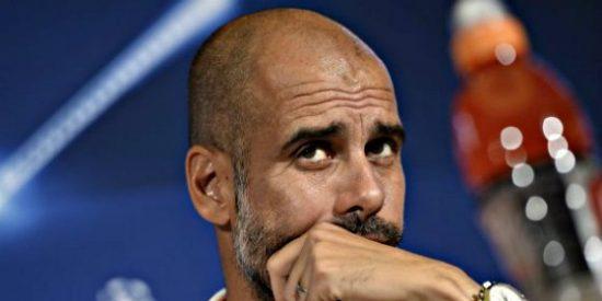 """Pep Guardiola: """"Lo siento por Cristiano, sé que quería al Benfica"""""""