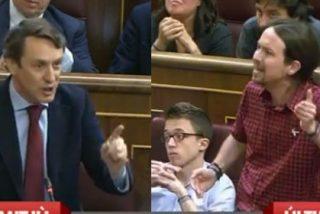 Pablo Iglesias se pone en plan verdulera podemita ante el popular Rafa Hernando