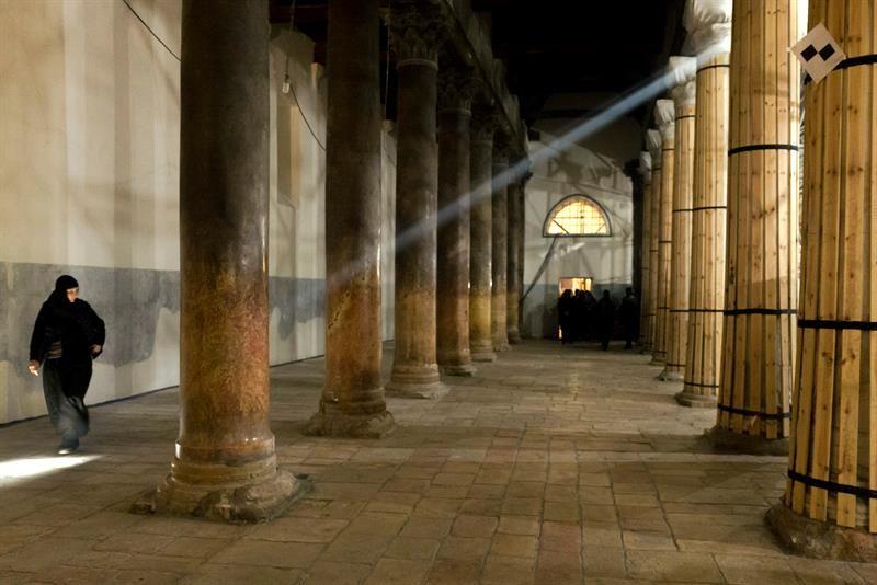 Más de 160 artistas devuelven su antiguo brillo a la cuna del cristianismo