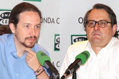 """Iglesias se pone la 'careta electoral' y va de humorista: """"Queríamos Interior para poner al comisario Marhuenda a nuestras órdenes"""""""