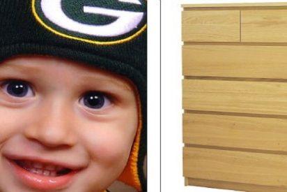¡Alerta! Muere un niño de 22 meses aplastado por una cómoda de Ikea