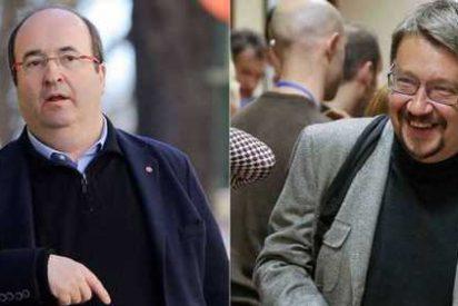 El socialista Iceta y el podemita Domènech se reúnen en secreto para tratar el referéndum en Cataluña