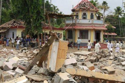 Pésame del Papa por le incendio en un templo de Kerala