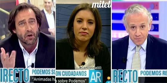 """Festival de golpes a la ministra Irene Montero: """"Nunca habéis querido gobernar con el PSOE, ¿por qué no os quitáis la máscara ya?"""""""