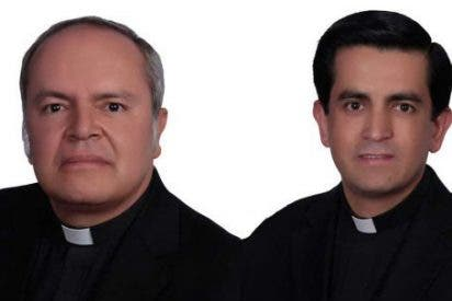 Nuevos vicario de San Andrés y auxiliar de Nueva Pamplona