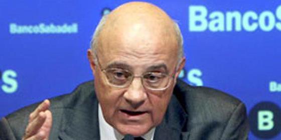 Josep Oliu Creus: Sabadell gana 252 millones hasta marzo, un 44,3% más, impulsado por TSB