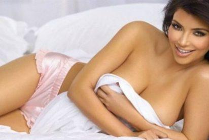 La desatada Kim Kardashian revela el lugar más raro donde ha tenido sexo